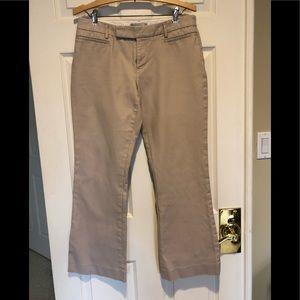 "GAP Pants Modern Boot 4R Beige Inseam 29"""